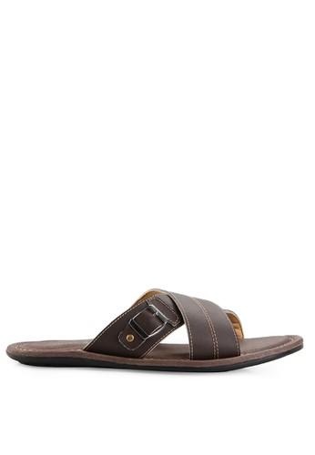 MARC & STUART Shoes brown Sandal Hector 1 MA456SH0UOQVID_1