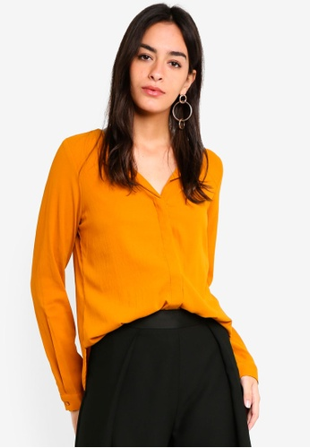 Vero Moda orange Grace Top 2A15FAA4172203GS_1