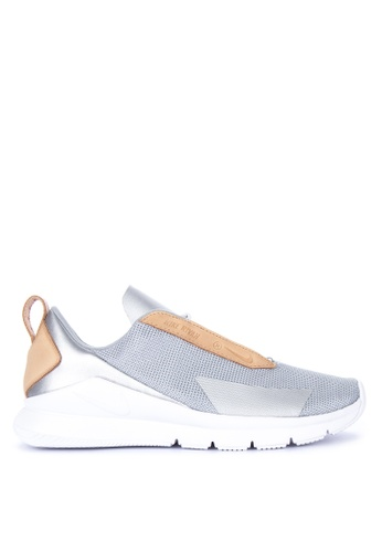 Nike white and silver Women's Nike Rivah SE Premium Shoes DB983SHBCDB68DGS_1