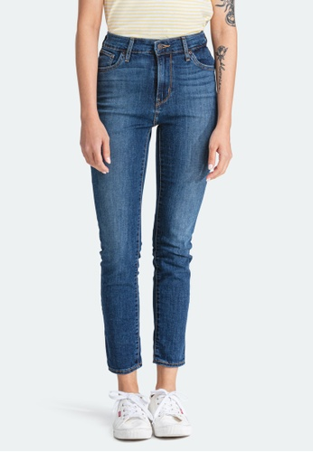 Levi's blue Levi's 721 High Rise Skinny Ankle Jeans Women 22850-0102 New Arrival ED963AADE62CEEGS_1