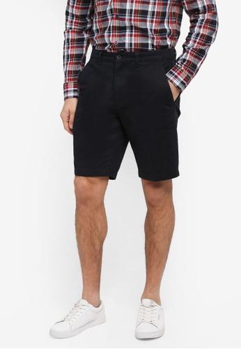 Jack Wills black Widmore Chino Shorts 0787AAA91BBC1EGS_1
