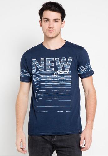 X8 navy Easton T-Shirts X8323AA0UDHMID_1