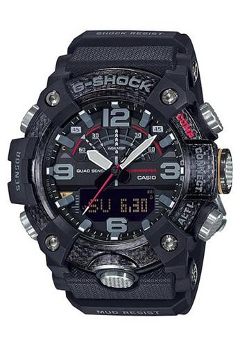 G-Shock black Casio G-SHOCK Jam Tangan Pria - Black - Resin - GG-B100-1ADR Mudmaster A4EFDAC30D9388GS_1