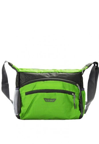 Stylebox green BOBO SX28015 Messenger/Crossbody Bag 488F6AC285C9F8GS_1