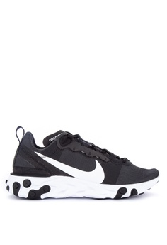 purchase cheap 4cc8d ed9e2 Nike black Nike React Element 55 Shoes A13D6SH0E90627GS 1