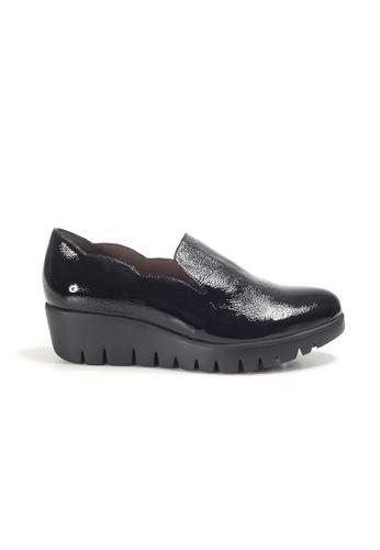 Shu Talk black WONDERS FLY Scallop Trimmed Comfortable Shoes 92499SH65ECF25GS_1