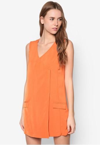 Collection Wrap Shizalora時尚購物網評價ft Dress, 服飾, 短洋裝