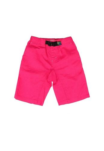 GLOBAL WORK pink Casual Shorts E64F8KA1BB0504GS_1