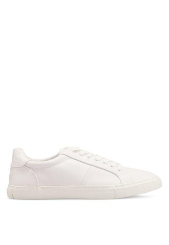 Topman 白色 拼接運動鞋 D9F42SHE1A3CADGS_1