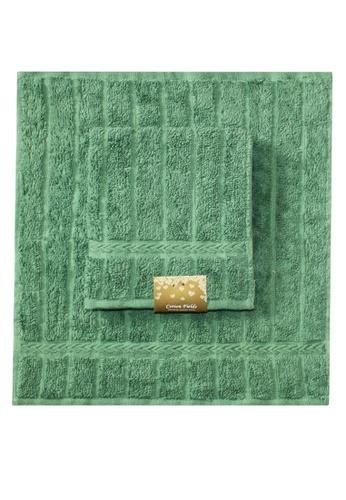 Cotton Fields green Cotton Fields Face Towel Stripes 44E6CHLE71B92CGS_1