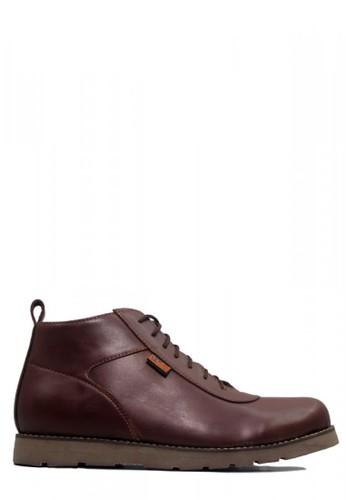 D-Island brown D-Island Shoes Venture Comfort New Leather Dark Brown 94064SHDCD641CGS_1