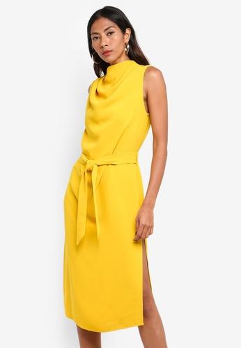30327ca3bc6ad6 Buy River Island Cowl Midi Dress Online on ZALORA Singapore