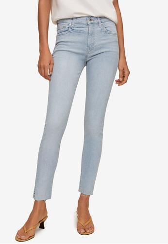 Mango blue Crop Skinny Isa Jeans A4D9CAA7AE3067GS_1