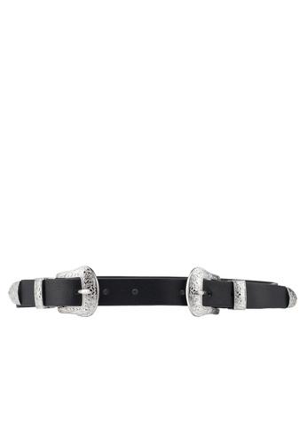 Pieces black Larah Waist Belt CAD06AC79DBCD8GS_1