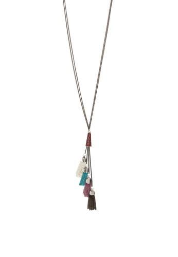 層次彩色流esprit 旺角蘇墜飾項鍊, 飾品配件, 項鍊