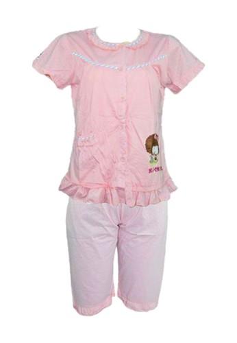 You've pink You've ( YouHave ) Baju Tidur Wanita Sleepwear Wanita BTR-327 D7C29AA223ED59GS_1