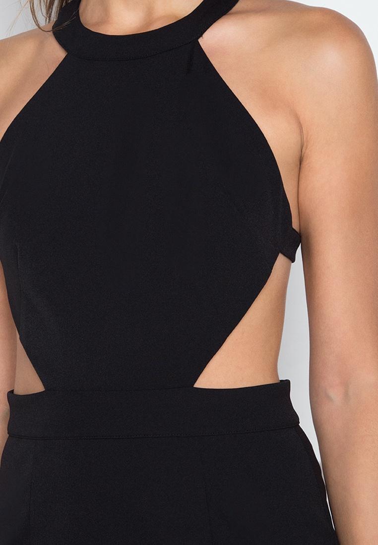 Dress NOBASIC Black Backless Halter NOBASIC Halter Black Dress Backless aYqPtwqC