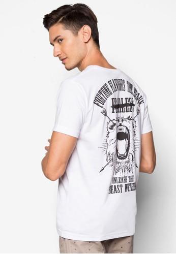 Fearless 圖文設計TEE, 服飾,esprit香港分店 服飾