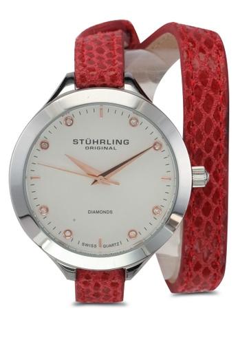 Stuhrling Original red Vogue 624 Watch ST251AC0SL44MY_1