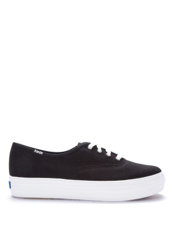 93ed9e285 Shop Keds Triple Canvas Sneakers Online on ZALORA Philippines