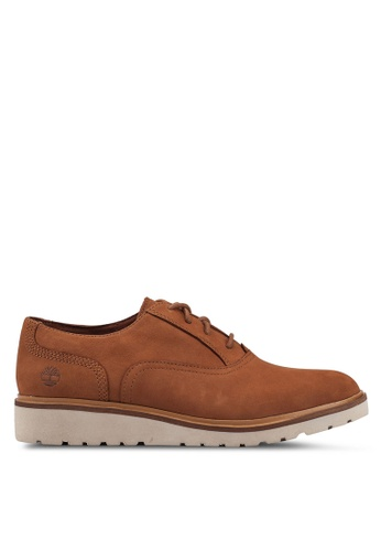 Timberland brown Ellis Street Oxford 9A26BSH989BFF7GS_1