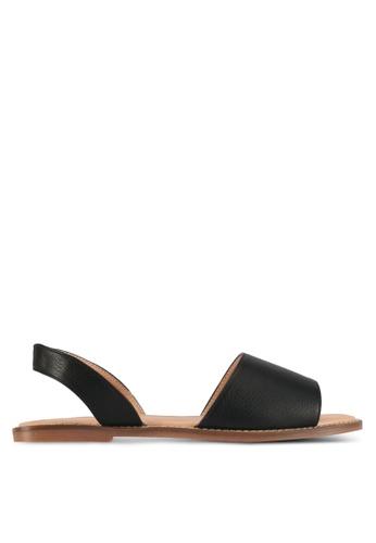Alfio Raldo black Strappy Sandals 0E811SH85F5D9DGS_1