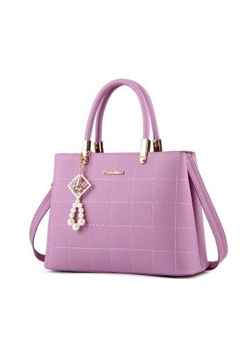 TCWK purple TCWK Korea Style Women Handbag - Light Purple 43840AC890A58BGS_1