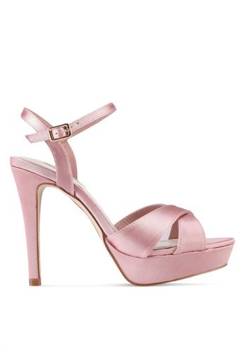 VINCCI pink Strappy Heels C4C62SH9BD4F53GS_1