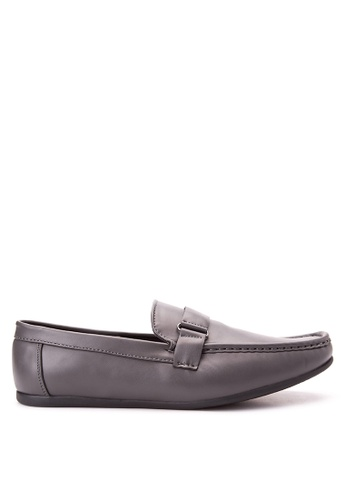 Wade grey Smart Casual Loafers WA436SH76JYDPH_1