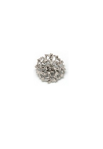 Paulini silver Brooch Coral (R) PA011AC08VSLMY_1