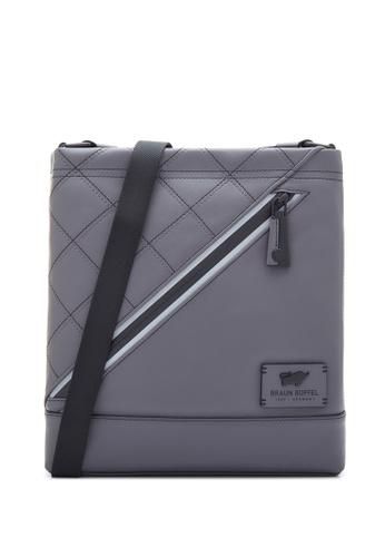Braun Buffel grey Danny-S Medium Postman Bag E7337ACFCBD692GS_1