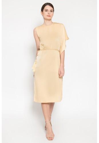 Goya Studio yellow Ra Dress 1E93BAA7128B8FGS_1