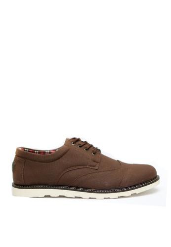 Toods Footwear brown Toods Benon - Cokelat TO932SH38RMVID_1