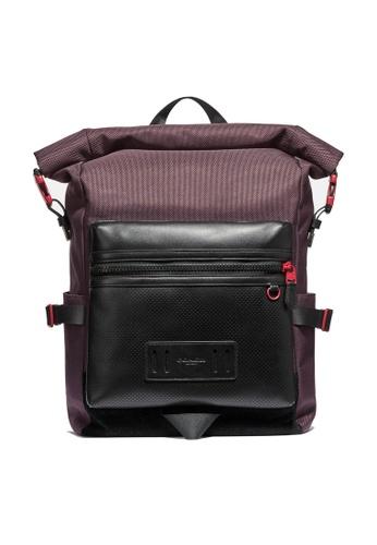 Coach brown Terrain Roll-Top Backpack (cv) 326CEAC742E8B9GS_1