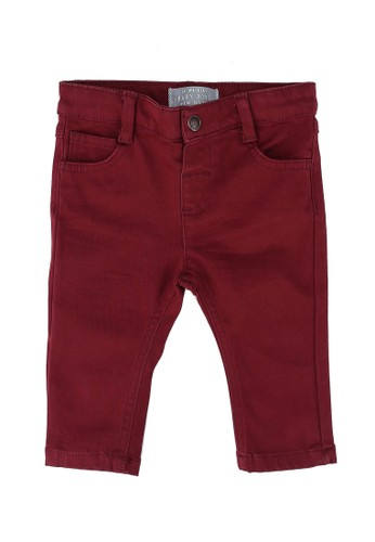 LC Waikiki red Slim Fit Trousers A4B2DKA1D64E42GS_1