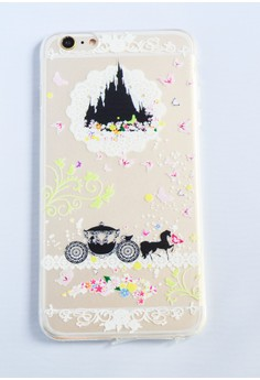 Castle and Carriage Soft Transparent Case for iPhone 6 plus/ 6s plus