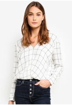 GAP white Wrap Shirt 7749EAAD388205GS_1