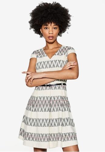 ESPRIT white Woven Mini Dress A7881AA3FCEBD5GS_1