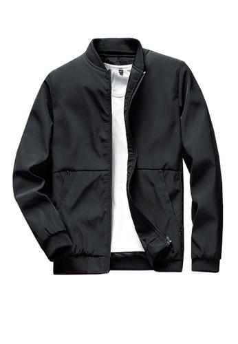 Twenty Eight Shoes black VANSA  Simple Casual Coat VCM-C1966 20898AAE99B261GS_1