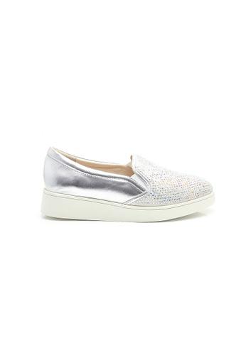 Elisa Litz silver Tatiana Sneakers (Silver) C2989SHBB1E35CGS_1