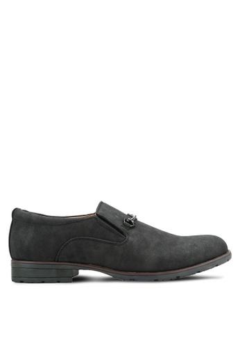 Rocklander black Buckle Loafers RO978SH0RGYRMY_1