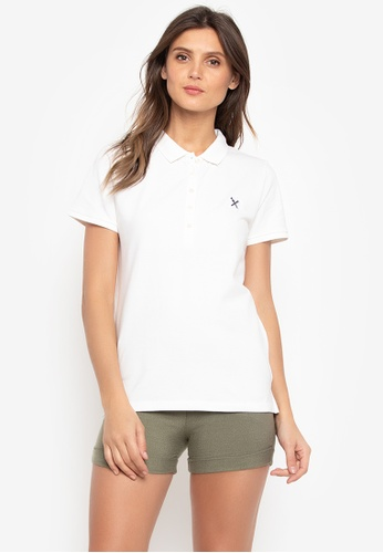 REGATTA white Pique Polo Shirt With Short Sleeves 8972EAAFC8FBDFGS_1