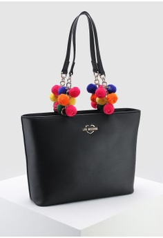 9c7826396068 26% OFF Love Moschino Pom-Pom Soft Grain Tote S$ 409.00 NOW S$ 300.70 Sizes  One Size