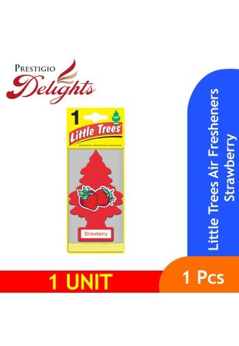 Prestigio Delights yellow Little Trees Air Fresheners Strawberry 39C37ES4CB4554GS_1