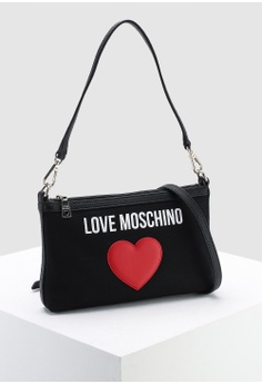 31812c474b684 30% OFF Love Moschino Canvas Sling Bag S$ 199.00 NOW S$ 138.90 Sizes One  Size