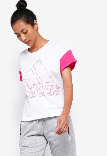 adidas white adidas sid bos tee 7F917AAE928E4DGS_1