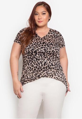 Audrey multi Micha Plus Size Blouse AU926AA0JOX5PH_1