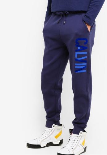 Calvin Klein 黑色 Calvin Logo Sweatpants - Calvin Klein Jeans FB7ACAA10237E4GS_1