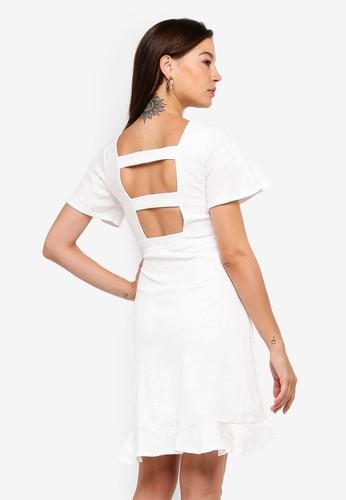 Megane white Red Romance Louella Dress 0189EAA10C5368GS_1