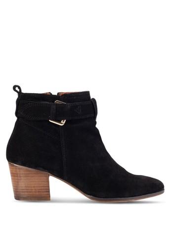 Dothan 扣環粗跟短靴, esprit官網女鞋, 鞋